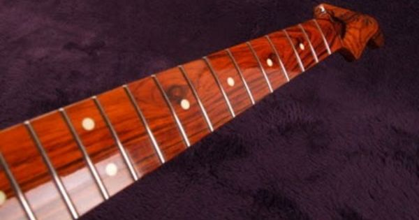 Exotic Wood Musikraft Finish Strat