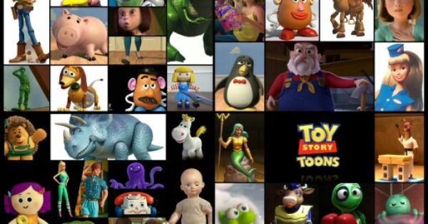 Disney Toy Story 1 2 3 Toons Pixar Characters Small