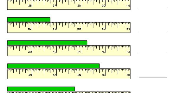 Printables Reading A Tape Measure Worksheet reading a tape measure worksheet abitlikethis worksheets measurement and on pinterest