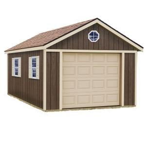 Best Barns Sierra 12 Ft X 20 Ft Wood Garage Kit Without Floor Sierra 1220 Wood Garage Kits Best Barns Built In Storage