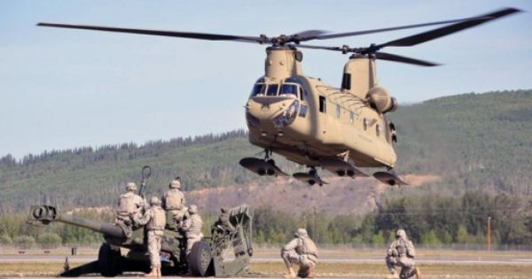 That Light Brown Helicopter Military Helicopter Chinook Helicopters