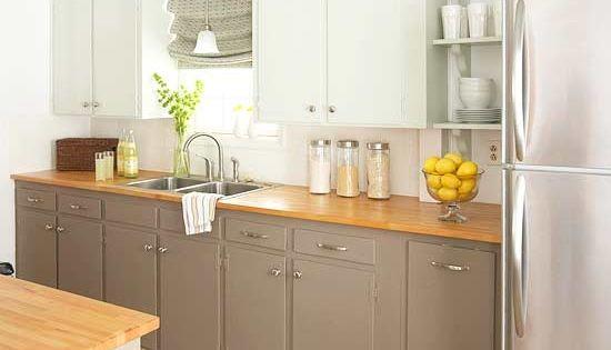 Repeindre sa cuisine soi m me 4 conseils essentiels - Changer la couleur de sa cuisine ...