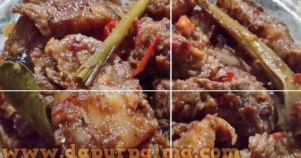 Resep Babi Rica Rica Khas Manado Daging Babi Yang Dimasak Dengan Bumbu Pedas Khas Manado Bikin Lidah Cetar Bergetar Indonesische Recepten Recepten Indonesisch