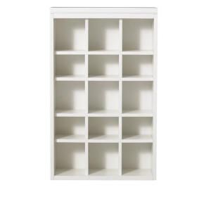 Martha Stewart Living Craft Space 34 In X 21 In Picket Fence 15 Cubbies Open Wall Mounted Storage 16 Space Crafts Martha Stewart Living Crafts Attic Design