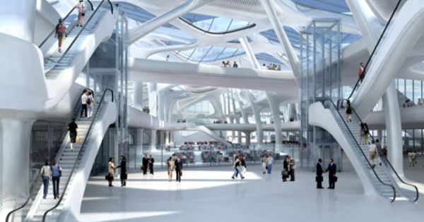 130403162158 Zha New Passenger Terminal And Masterplan Zagreb Airport Jpg 450 318 Zaha Hadid Zaha Hadid Design Zaha Hadid Architects