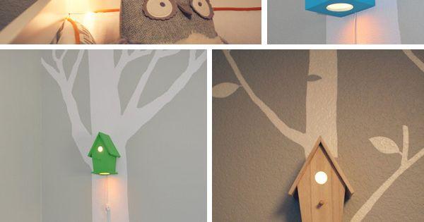 Nachtleuchten und Lampen, die sich teils kaufen, teils einfach DIY machen lassen!