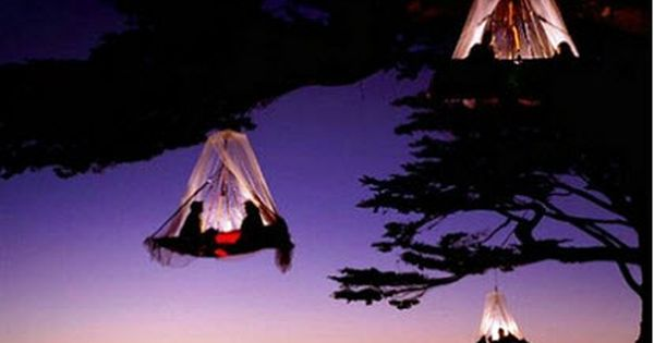 Tree Camping in Germany adventure travel