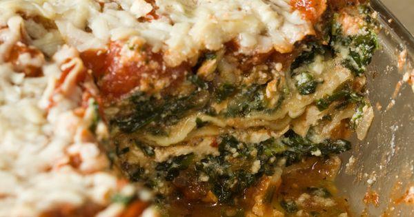 Lasagna, Lasagna recipes and Veggies on Pinterest
