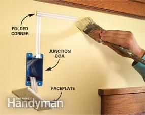 How To Hide Wiring Speaker And Low Voltage Wire Hidden Wiring Hiding Speaker Wires Hide Wires