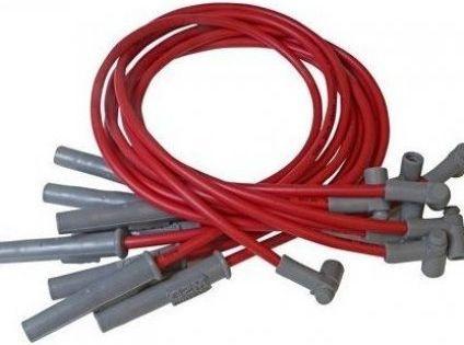 Msd 32749 Spark Plug Wire Set Red In 2020 Car Tires Electrical Wiring Diagram Spark Plug