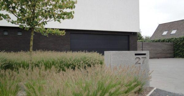 Strakke tuin google zoeken front garden ogr d frontowy pinterest - Landschapstuin idee ...