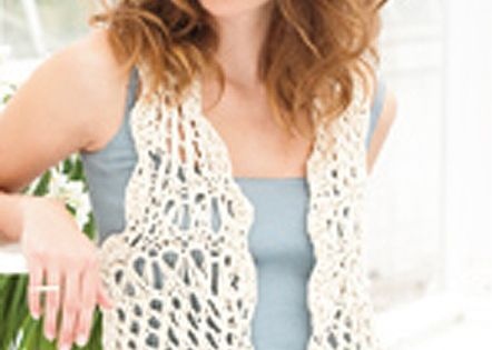 Free Vest Patterns And Crochet And Yarn Purple Kitty : free crochet vest patterns for beginners Free Vest ...