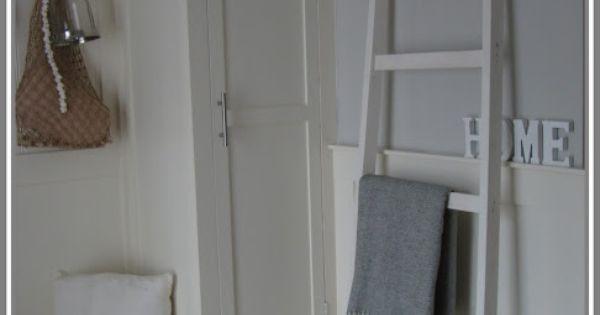 ... om te kopen/inrichten Lloydkade : Pinterest - Ladder, Quilt en Met