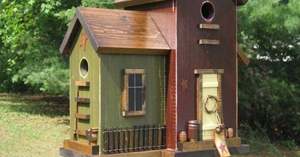 Fancy Wooden Bird Houses Bird Houses People Make I