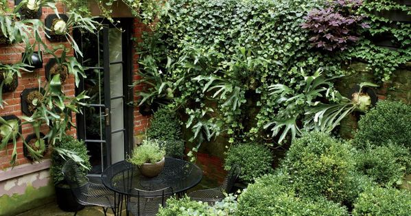 Manhattan backyard garden - ❤
