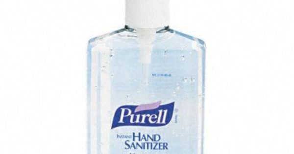 Purell Instant Hand Sanitizer Pump Dispenser Bottle 8 Oz Pump