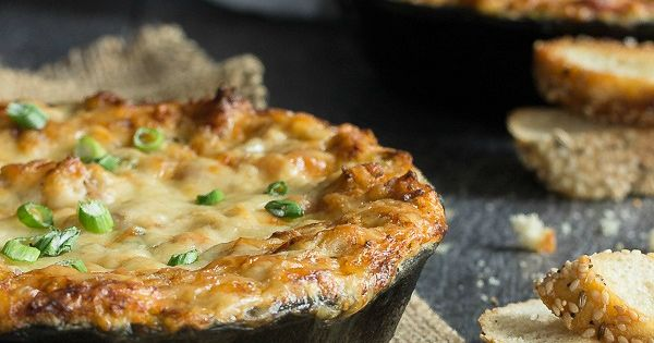 Cheesy Crab Dip with Bacon | Recipe | Dips, Melted cheese ...