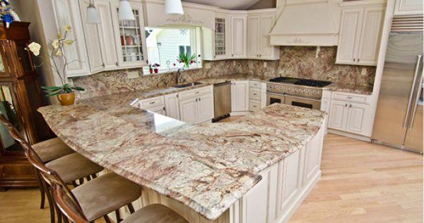 Precision Stone Design Kitchen Concepts Kitchen Countertops Sienna Bordeaux Granite