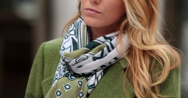 "Love the scarf / coat combo. Gossip Girl ""Despicable B"" Pictured: Blake"