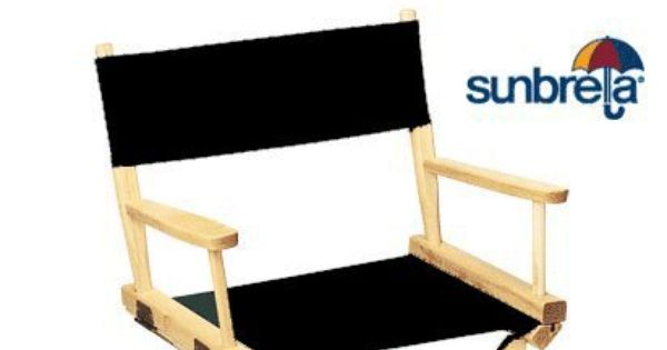 Amazon Com Sunbrella Directors Chair Replacement Cover Flat Stick Captin Chair Covers Chair Directors Chair Sunbrella