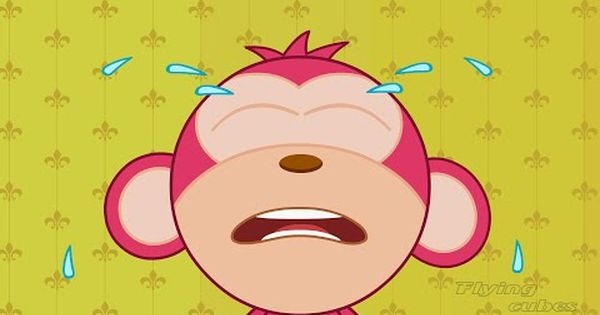 Five Little Monkeys Jumping On The Bed Nursery Rhyme By Flying Cubes Five Little Monkeys Nursery Rhymes Songs Nursery Rhymes