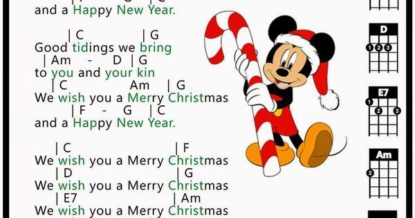 Merry christmas, Ukulele and Ukulele tabs on Pinterest