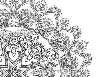 29 Printable Mandala Abstract Colouring Pages For Meditation Stress Relief Mandala Coloring Mandala Coloring Pages Abstract Coloring Pages