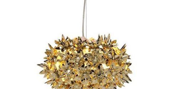 gold wishlist small bloom by ferruccio laviani kartell inspiration stilllife precious designideas interior decor lamp light instadesign bloom lamp gold ferruccio laviani
