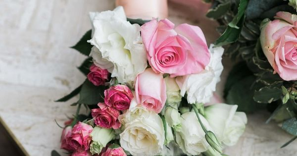These bouquets designed by Debi Lilly are