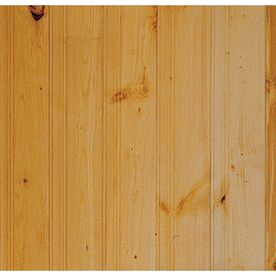 Lowes Tongue And Groove 8 Boards Wall Paneling Knotty Pine Walls Paneling