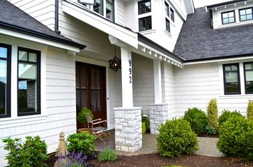 Black Gutters White Fascia With Images