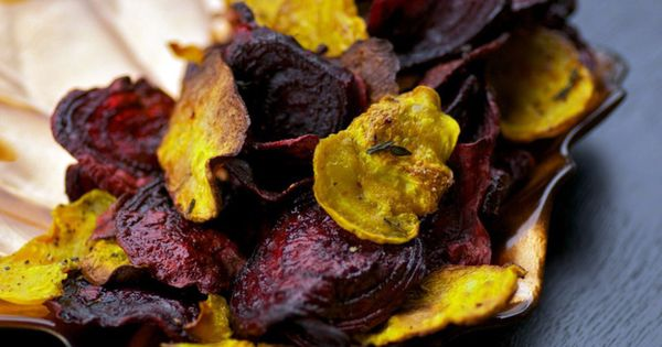 Vegetable Chips - recipes for Kale Chips, Smoked Paprika Carrot And Parsnip