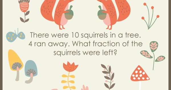 Squirrel away the answer to this math puzzle! | Math Puzzles | Pinterest  sc 1 st  Pinterest & Squirrel away the answer to this math puzzle! | Math Puzzles ... 25forcollege.com