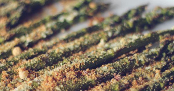 Parmesan asparagus - low carb