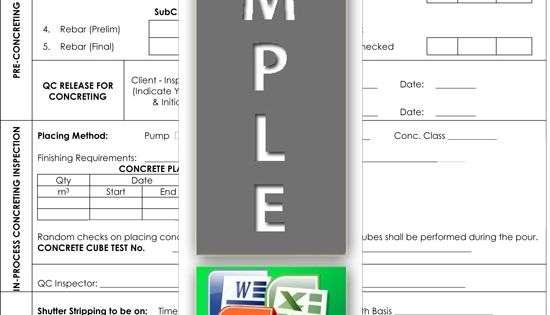 Concrete inspection request Quality Control Templates Pinterest - submittal transmittal form