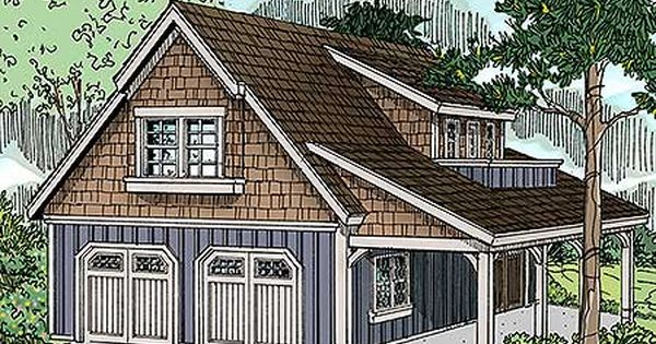 Plan 72816da craftsman garage with living area and shop for Garage with living area