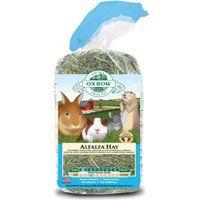 Oxbow Animal Health Alfalfa Hay 9 Pound Alfalfa Hay Small Pets Food Animals