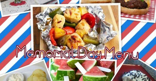 great memorial day menu