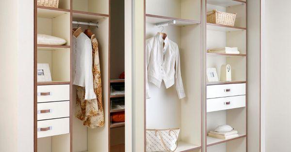 Extra opbergruimte nodig heb je een ruimte die te klein is voor een inloopkast maar te diep - Organiseren ruimte voor een extra ...