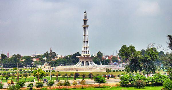 Minar E Pakistan Pakistan Paris Skyline Places