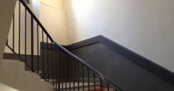 Peinture cage escalier peinture cage d 39 escalier - Amenager une cage d escalier ...