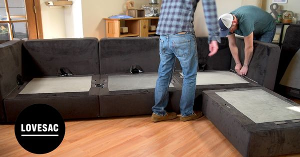 Lovesac Quot Sactionals Quot Video Review How To Setup In