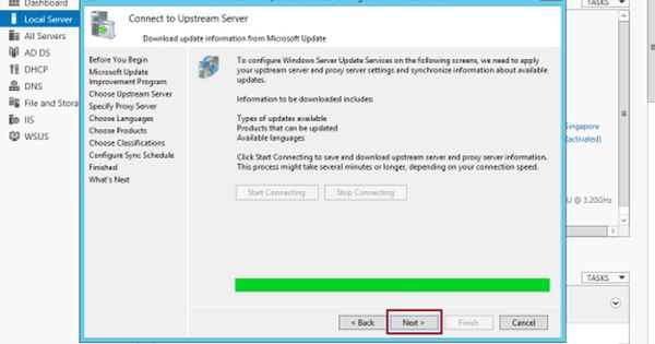 Step By Step Installing Configuring Wsus In Server 2012 R2 Server Computer Technology Windows Server