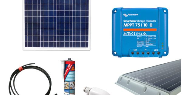Victron 50w Polycrystalline Solar Panel Kit 10a Mppt Smart Solar Charge Controller Solar Energy Panels Solar Technology Solar Energy