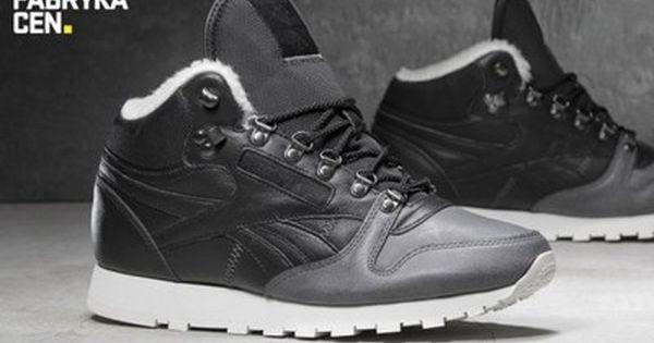 Buty Meskie Reebok Cl Mid Sherpa V67028 Wysokie 6320806468 Oficjalne Archiwum Allegro Reebok Saucony Sneaker Sneakers Nike