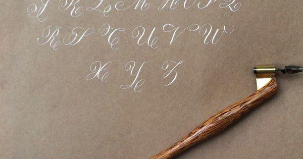 Copperplate Calligraphy Penmanship The Next Level Osns Kalligrafi Pinterest Kalligrafi