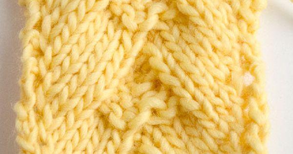 Herringbone Knit Stitch Bind Off : How to Knit German Herringbone Stitch Stickat