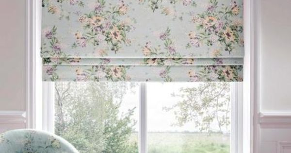 Dorma Duck Egg Brympton Roman Blind Dunelm Curtains