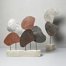 Modern Decorative Accessories  west elm  Sculpture, Decorative
