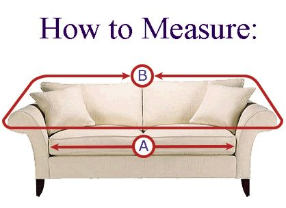 How To Measure A Couch For A Slipcover Diy Couch Cover Slip